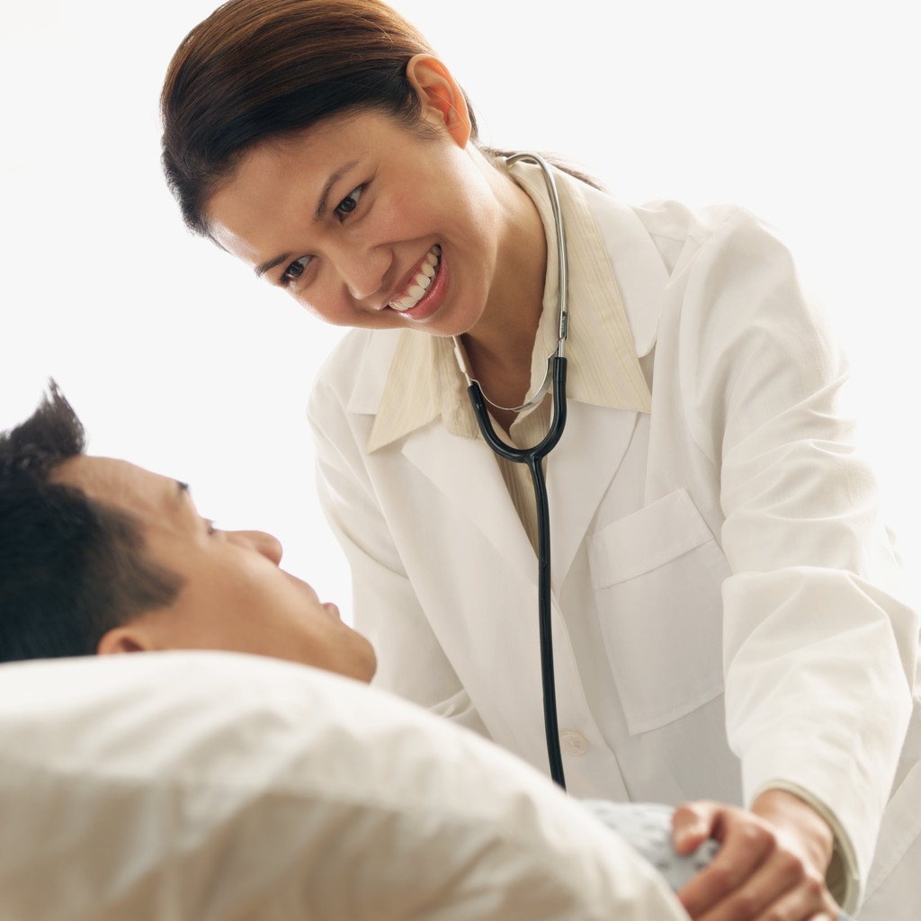 Physician Talking to Patient
