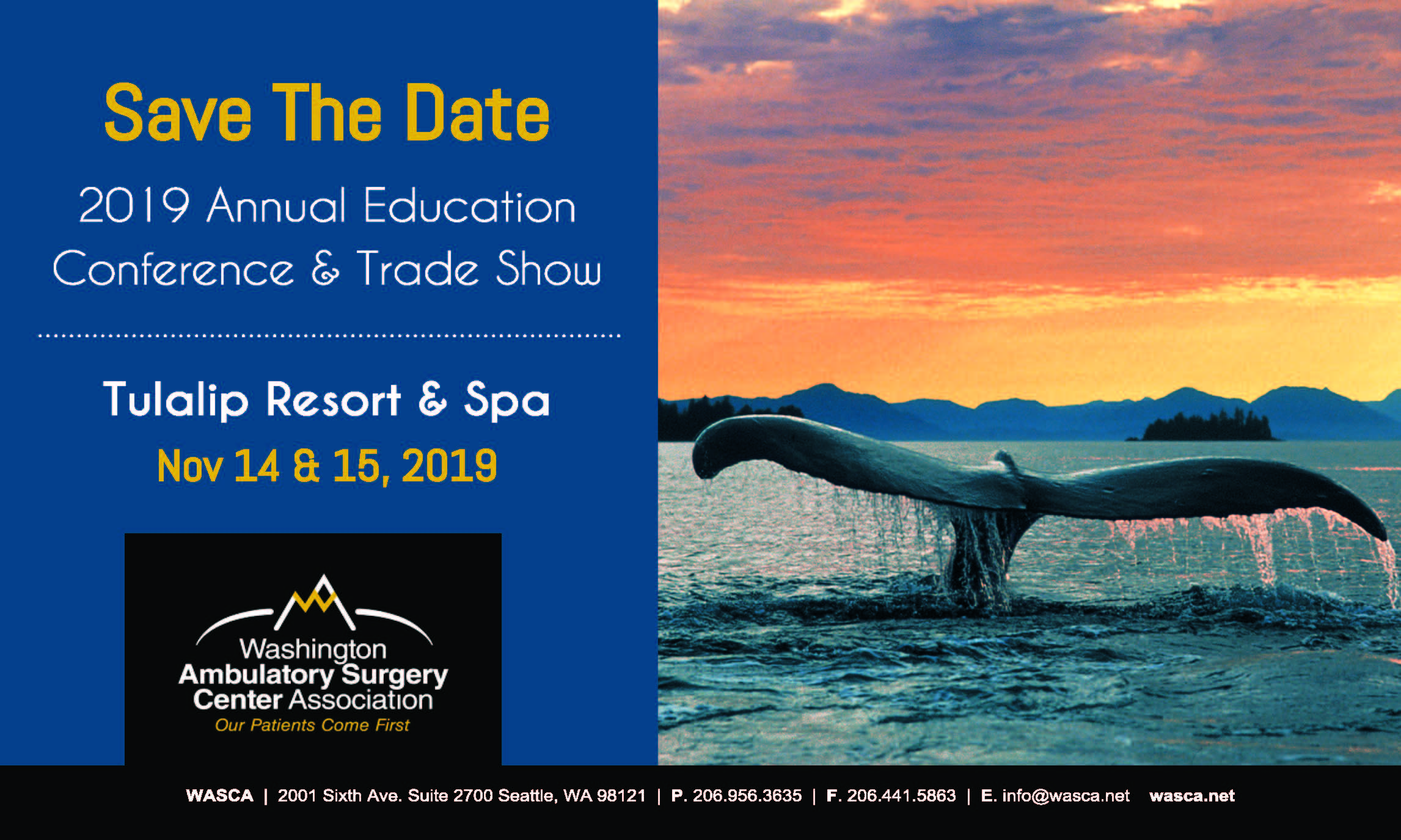 2018 Annual Education Conference & Trade Show - WASCA